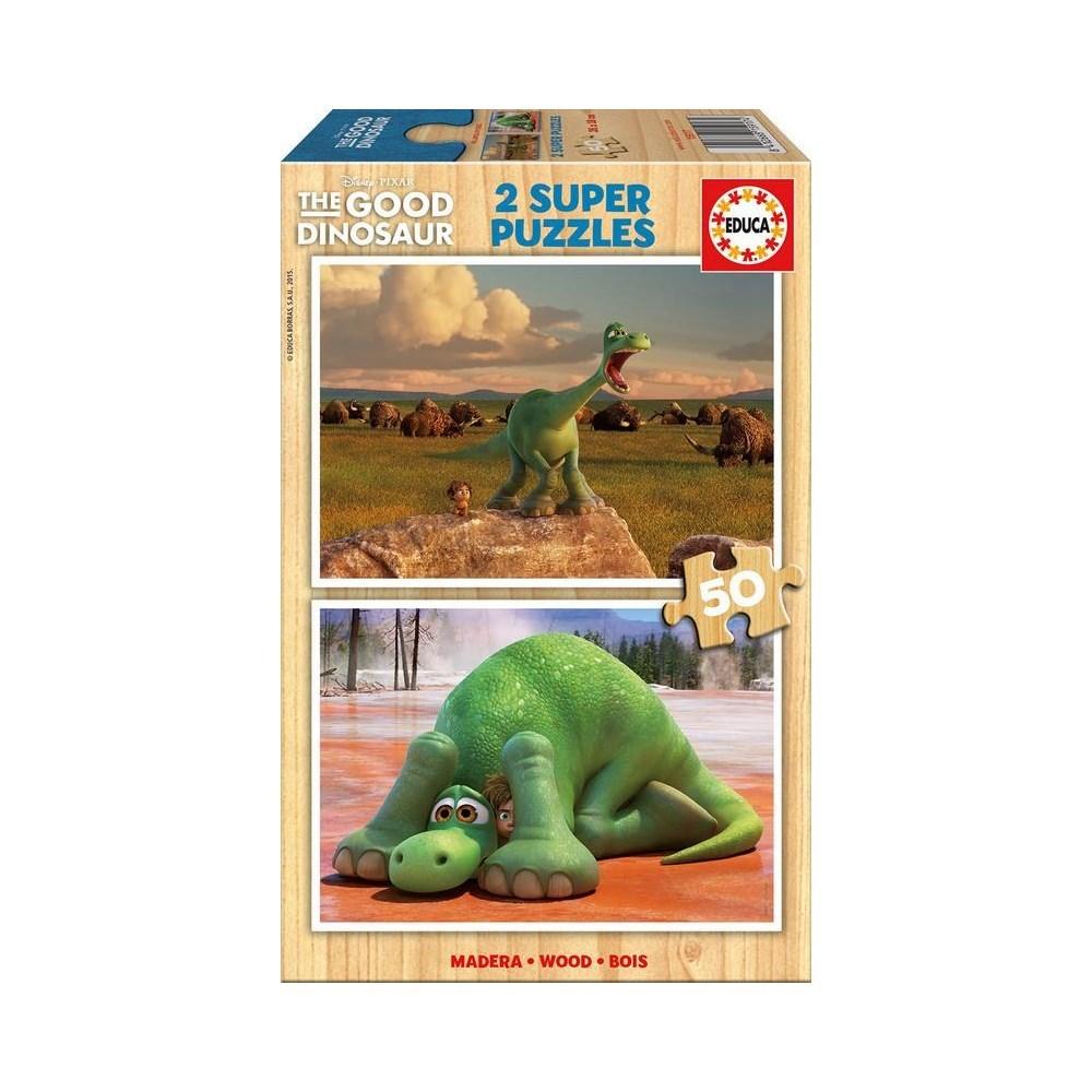 מארז 2 פאזלים הדינוזאור הטוב