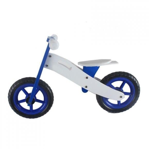 אופני איזון מעץ כחול