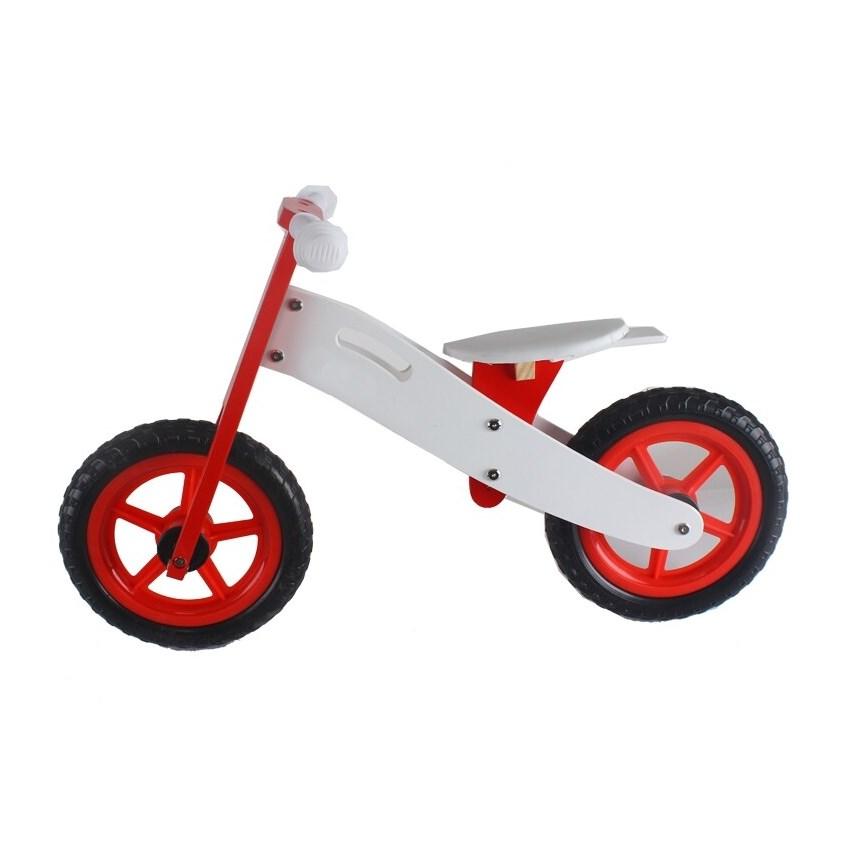 אופני איזון מעץ אדום