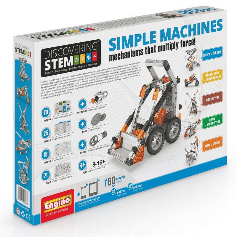אנג'ינו אינבנטור מכונות פשוטות - 192 חלקים - אנג'ינו - Engino ...