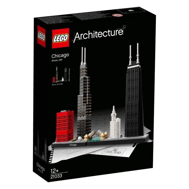 לגו ארכיטקטורה - שיקאגו 21033