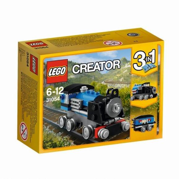 לגו קריאטור - רכבת כחולה 31054