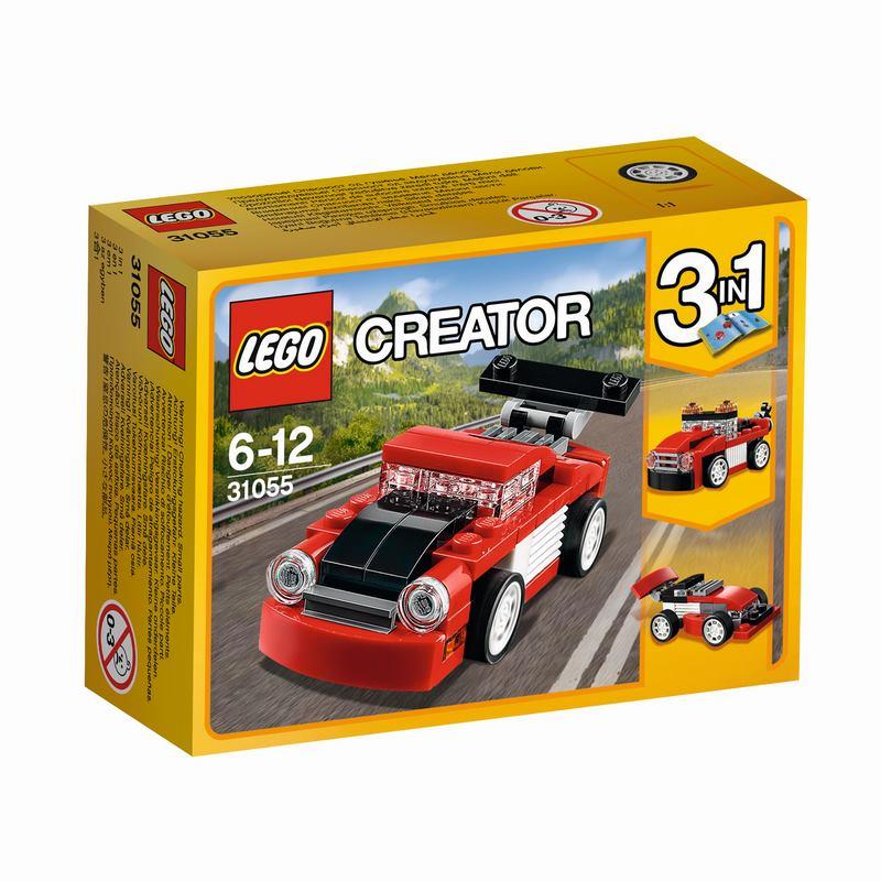 לגו קריאטור - מכונית אדומה 31055