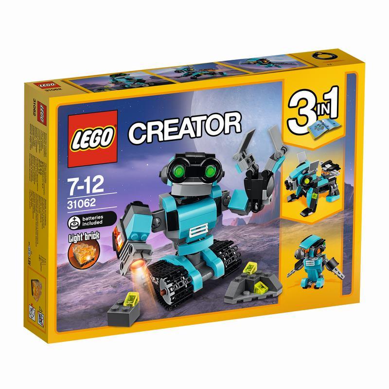 לגו קריאטור - רובוט תכלת 31062