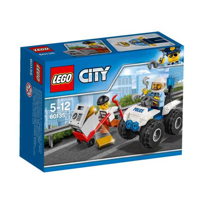 לגו סיטי - טרקטורון משטרה 60135