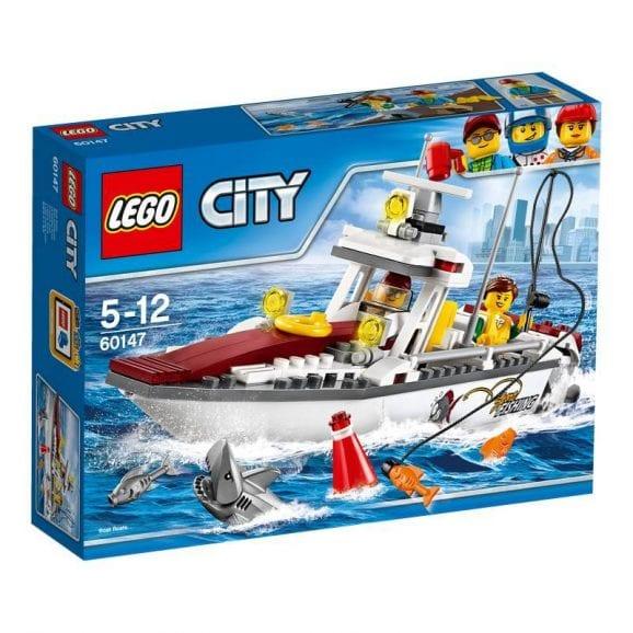 לגו סיטי - סירת דיג 60147