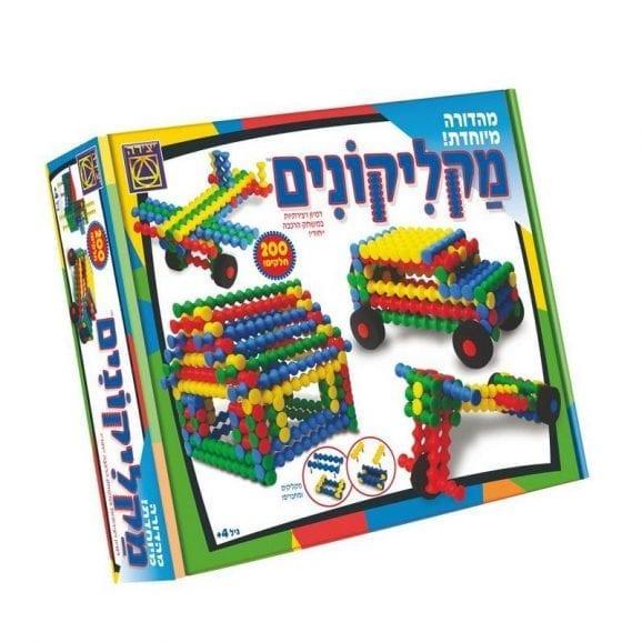 משחק קופסה - מקליקונים 202 חלקים מהדורה מיוחדת