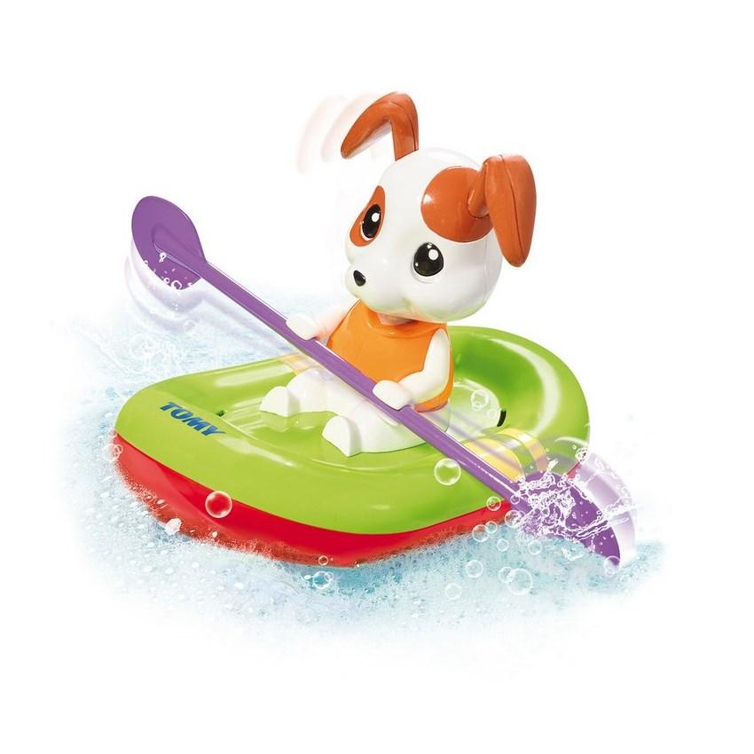 כלב בסירת משוטים - טומי