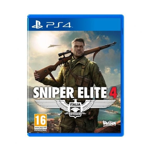 PS4 SNIPER ELITE 4 LIMITED EDITION