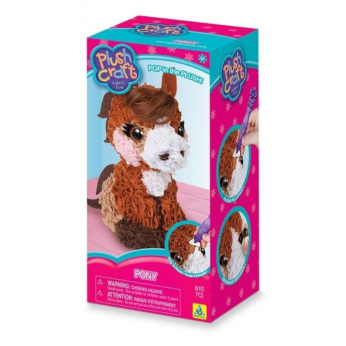 בובה מוקצפת - סוס פוני