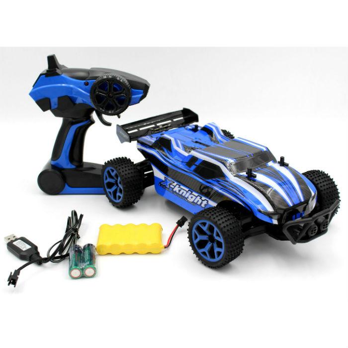 מכונית באגי עם שלט לילדים - כחול