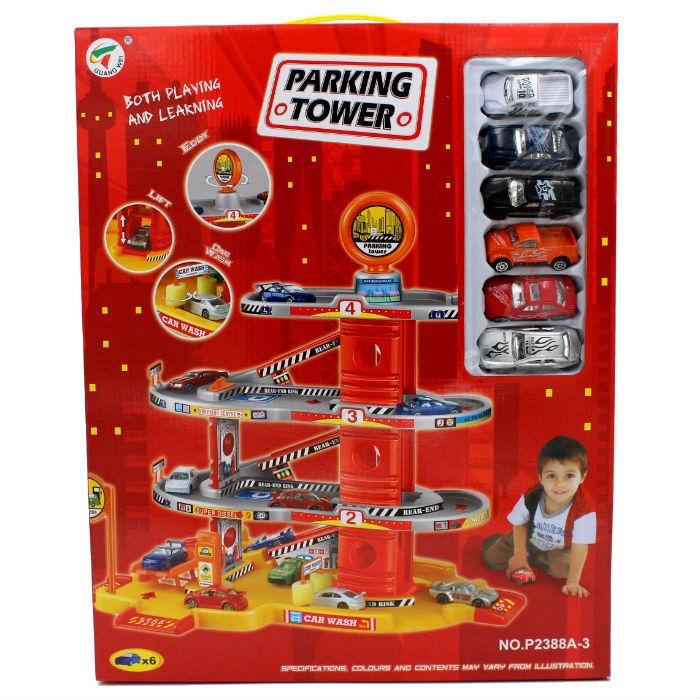 חניון מכוניות ענק לילדים