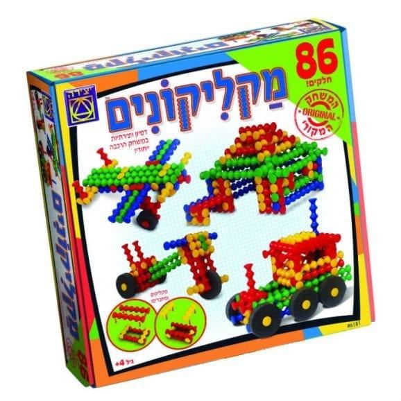 משחק קופסה - מקליקונים 86 חלקים