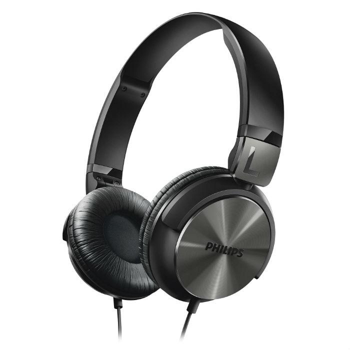 אוזנית DJ סטייל בצבע שחור