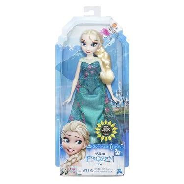 בובת אלזה ירוקה - נסיכות דיסני
