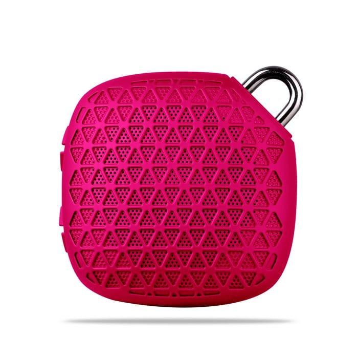 רמקול Bluetooth מעוצב ורוד