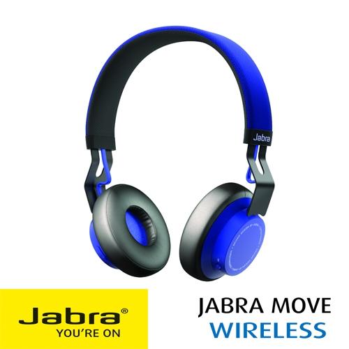 אוזניות אלחוטיות עם מיקרופון - כחול