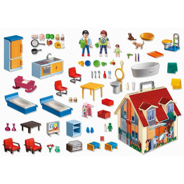 בית בובות קטן שלי פליימוביל 5167