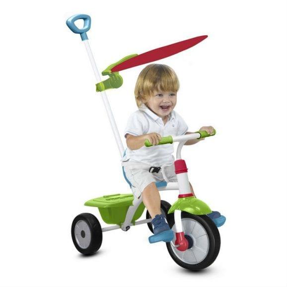 אופני פאן פלוס עם גגון - ירוק