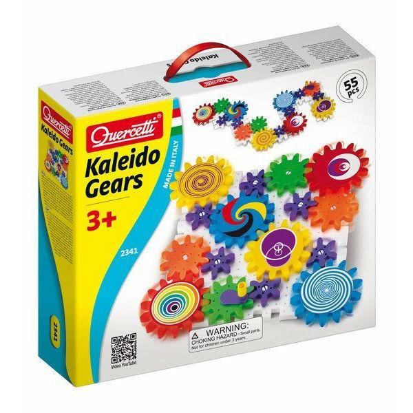 גלגלי שיניים קלידסקופ - 55 חלקים