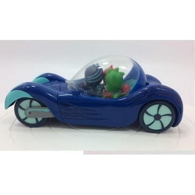 כוח פיג'יי - רכב דלוקס עם דמות של ילד חתול