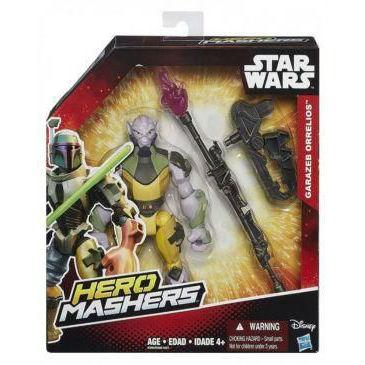 דמות קרב צהובה ואביזרים - מלחמת הכוכבים
