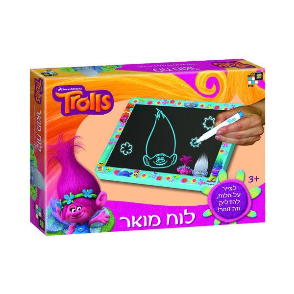 מודרניסטית טרולס - לוח ציור מואר - Trolls - טרולס - חנות צעצועים לילדים - אמיגו JM-33