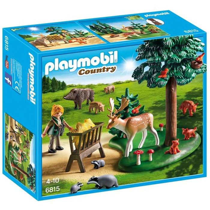 חיות יער בחורשה פליימוביל 6815