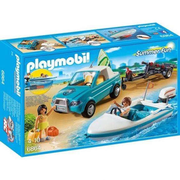 רכב עם נגרר, סירת מירוץ וציוד גלישה פליימוביל 6864