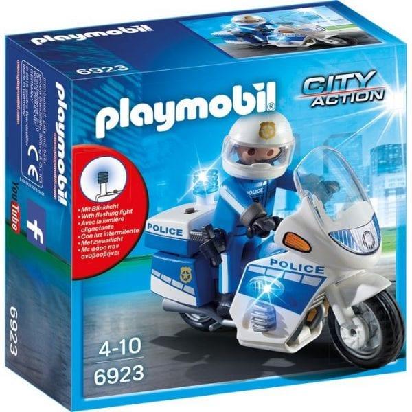 אופנוע משטרתי פליימוביל 6923