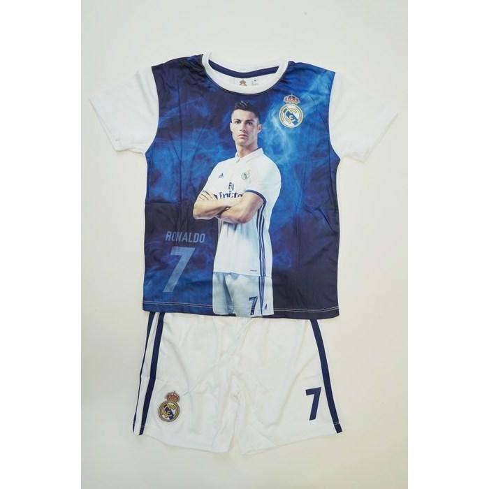 חליפת כדורגל ריאל מדריד רונלדו (לבן)