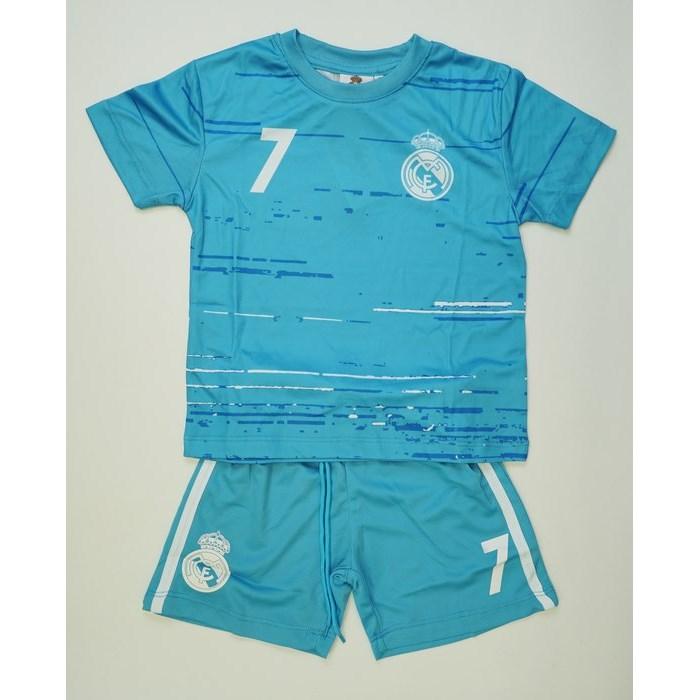 חליפת כדורגל ריאל מדריד (תכלת)