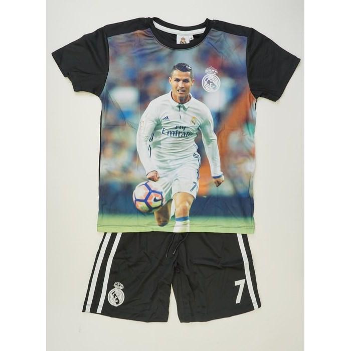 חליפת כדורגל ריאל מדריד – רונלדו בועט (שחור)