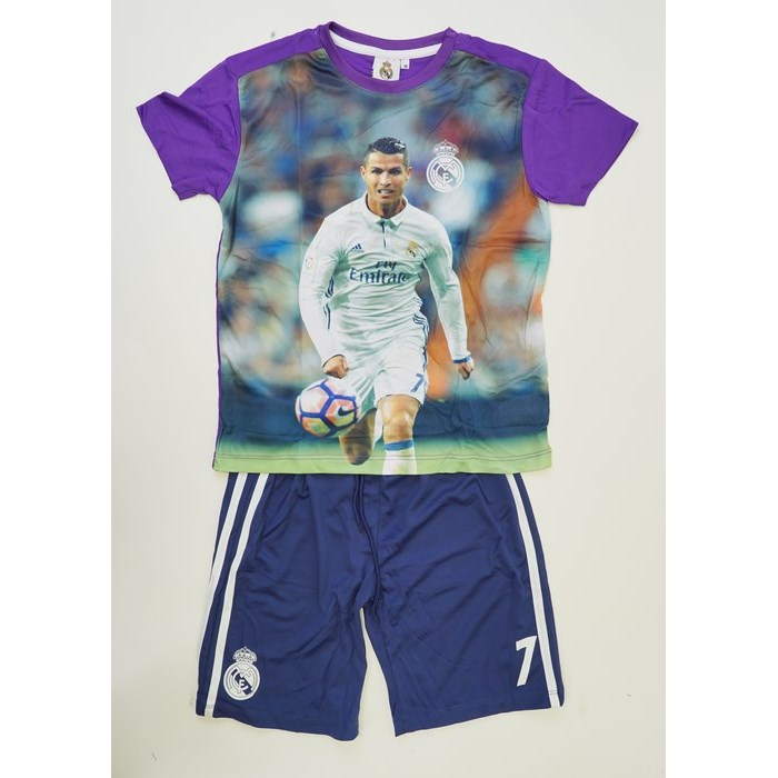 חליפת כדורגל ריאל מדריד – רונלדו בועט (סגול)