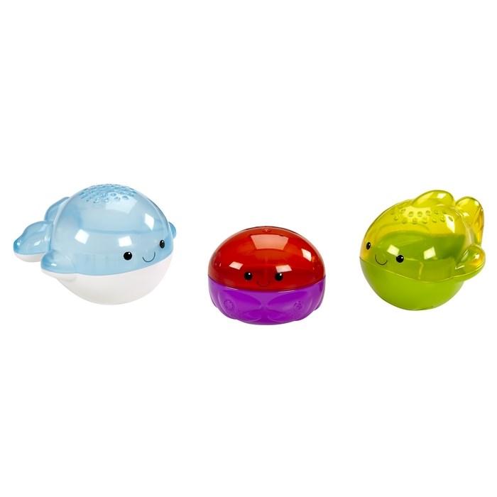 3 חיות אמבטיה לתינוק - פישר פרייס