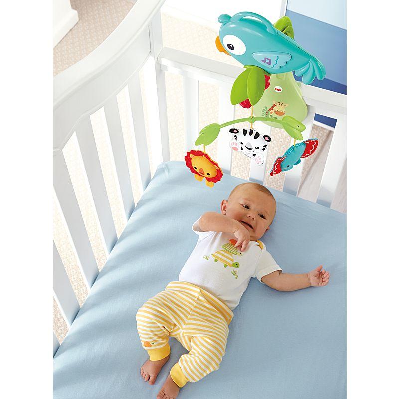 מובייל תוכי לתינוק 3 ב 1 - פישר פרייס