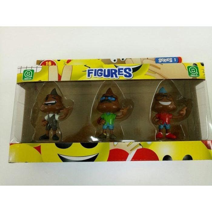 """3 בובות אימוגי בינונית - 6 ס""""מ"""