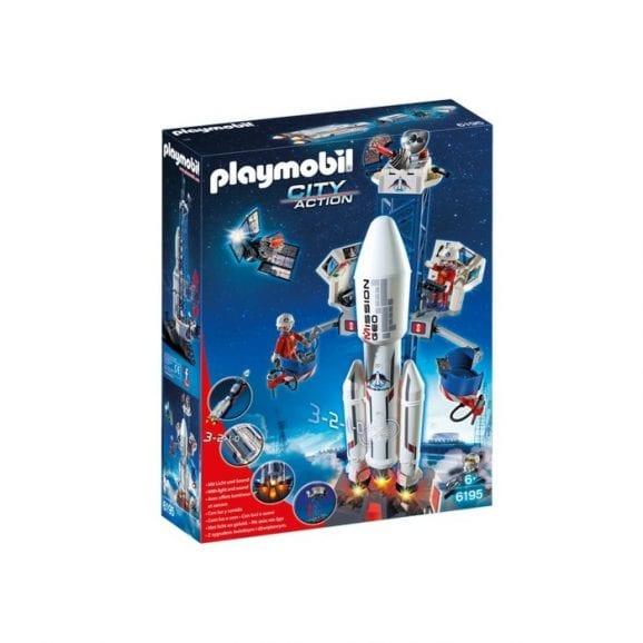 רקטת חלל עם אתר שיגור - פליימוביל 6195
