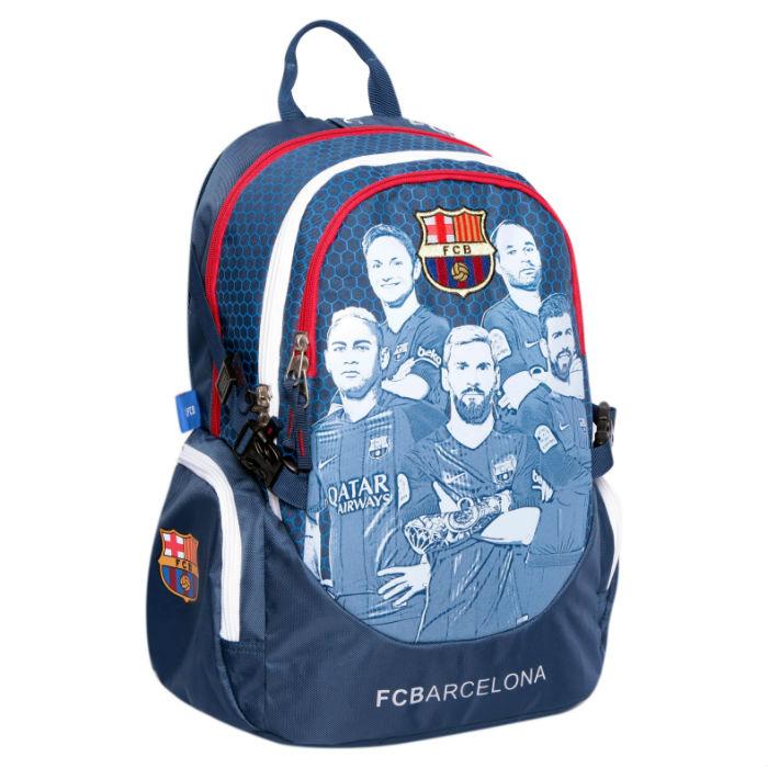 תיק ברצלונה כחול/אפור-FCB
