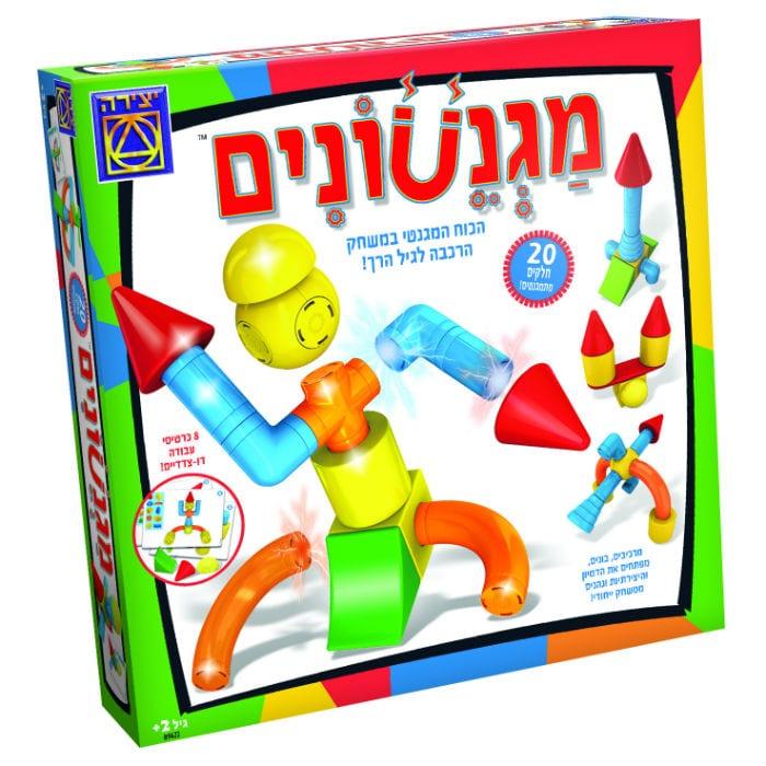 משחק מגנטים לילדים - מגנטונים