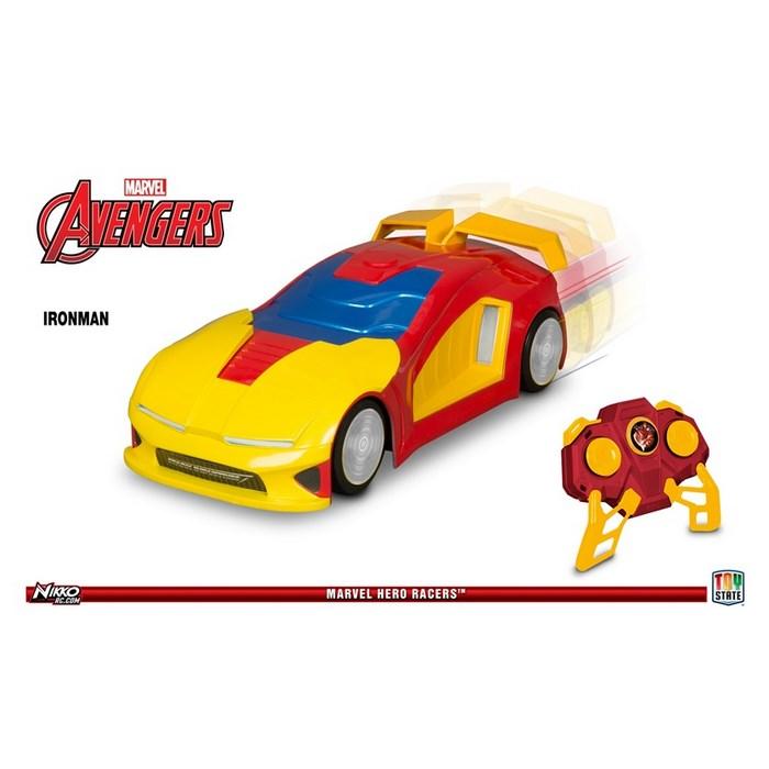 מרבל איירון מן מכונית שלט הירו רייסר