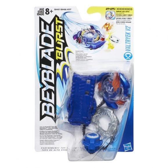 בייבלייד המקורי – מארז מתחילים - כחול VALTRYEK V2