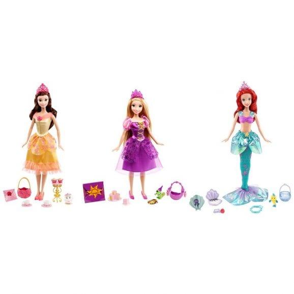 דיסני - מגוון נסיכות עם כרטיס בר