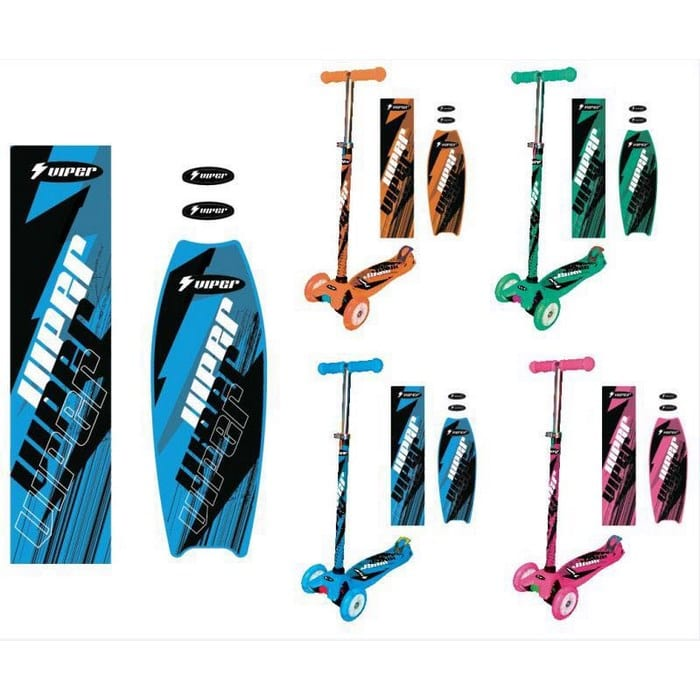 קורקינט 2 גלגלים קדימה מתכוונן - מגוון צבעים