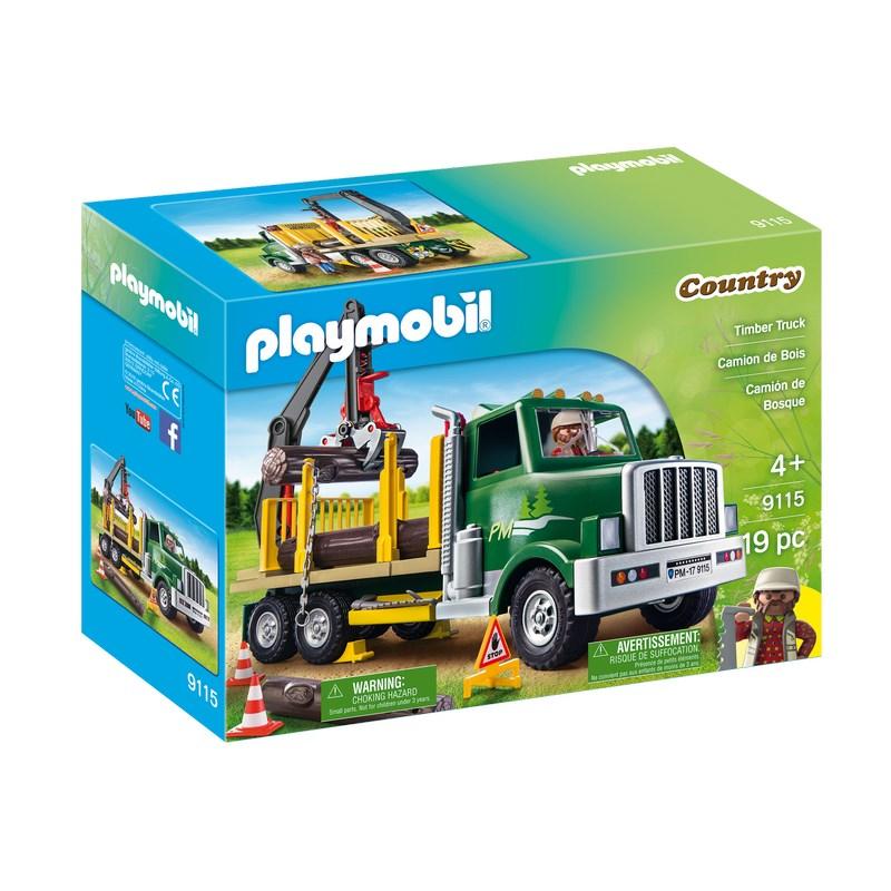 משאית עם מנוף פליימוביל 9115