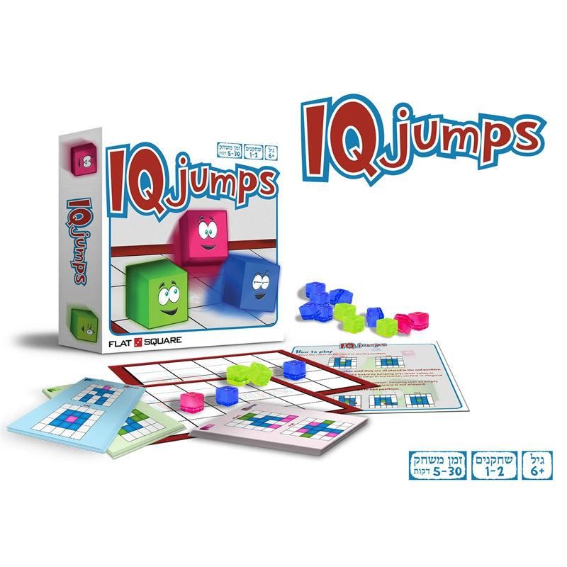 IQ JUMPS משחק חשיבה
