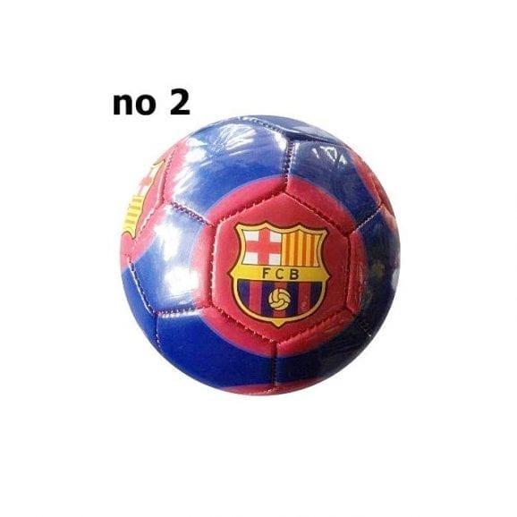 כדורגל ברצלונה מס' 2 כחול פסים אדום