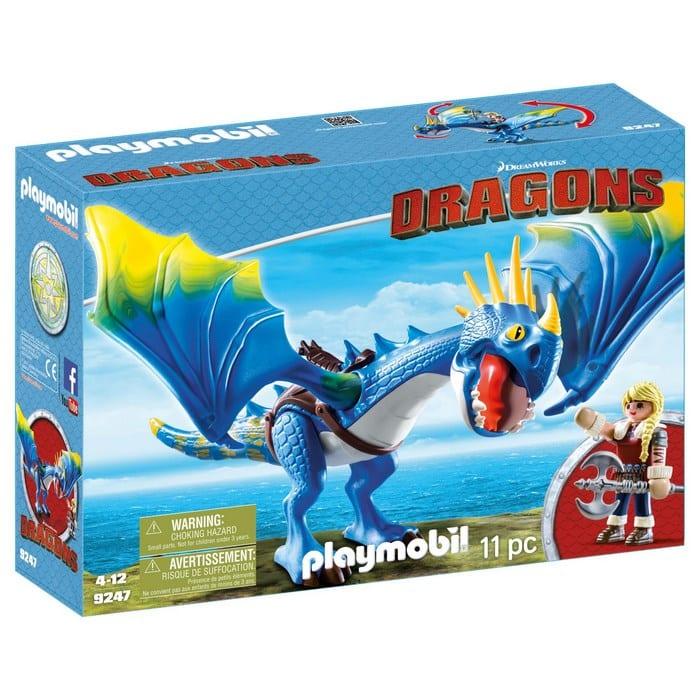 פליימוביל דרקונים ויקינגית אסטריד והדרקון הכחול 9247