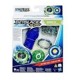בייבלייד מארז בייבלייד משודרג (עם סוללות) - ירוק KERBEUS K2