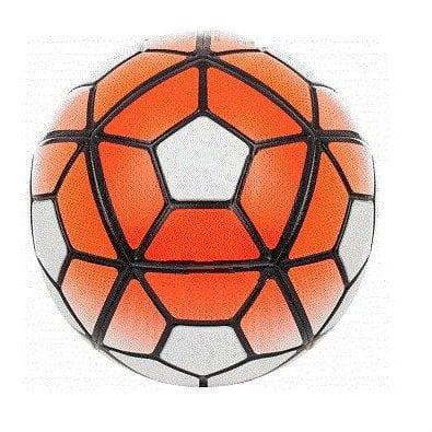 כדורגל 5 משולש-PU צבע כתום לבן